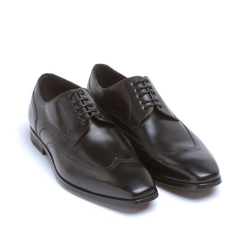 black shoes shoes black leather komio business shoes