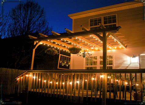Pergola String Lights Outdoor Goods Pergola String Lights