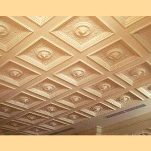 soffitto decorato soffitto a cassettoni in gesso caratteristiche