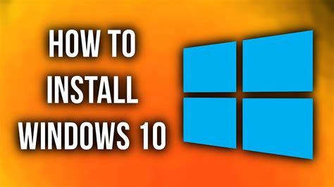 install windows 10 x205ta how to install windows 10 youtube