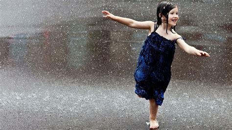 wallpaper girl in rain small girl in rain desktop wallpaper view hd image of
