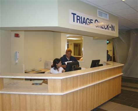 emergency room check in new emergency registration and triage areas now open