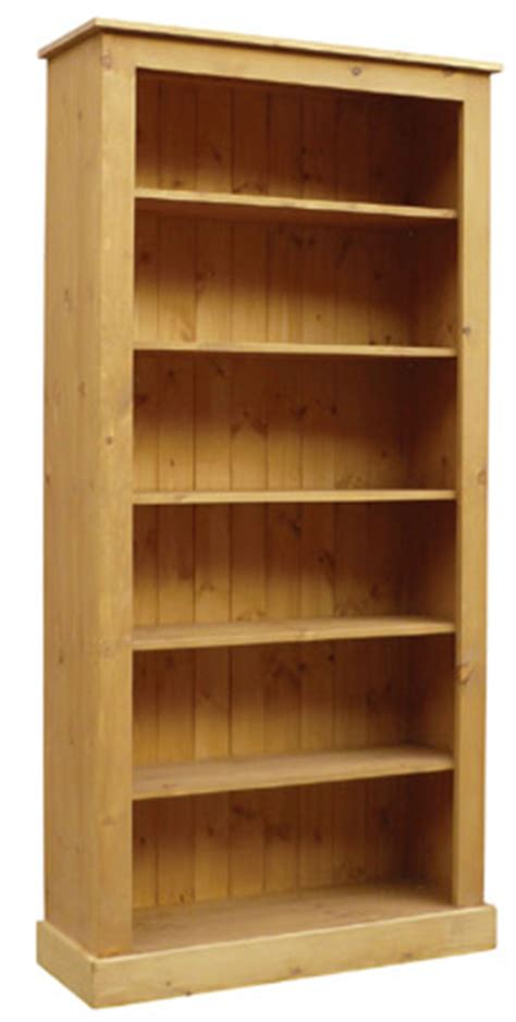 Pine Bookcases Uk solid pine bookcase in shaker style