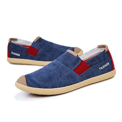 Sepatu Wanita Canvas Loafers Moccasins Casual casual outdoor slip on canvas comfortable flats loafers shoes alex nld