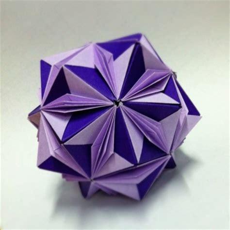 Origami Globe - origami floral globe by jeansaberin on deviantart
