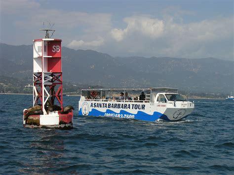 duck boat santa barbara land and sea tours the landshark visit santa barbara