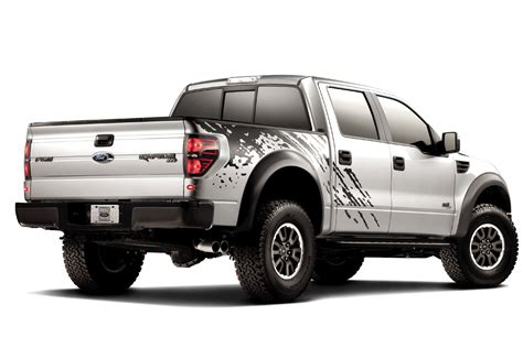 Sticker Raptor Sticker Mobil Ford Ranger Kaca ford begins offering graphics on the 2011 f 150 svt raptor