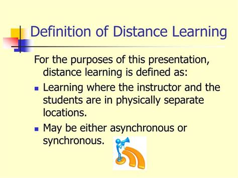 Distance Mba Means by Ppt Best Practices In Distance Learning Powerpoint
