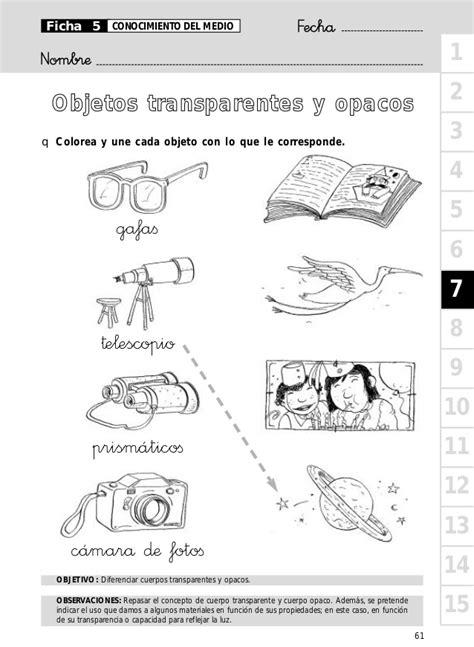 cadenas productivas sexto grado objetos transparentes