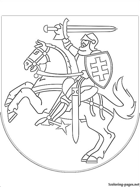 free coloring pages of spain coat of arms