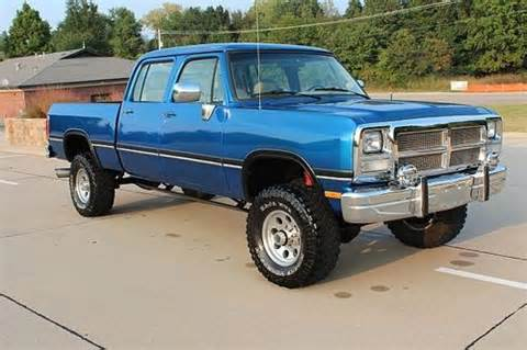 1985 Dodge Crew Cab For Sale Sell Used 1985 Dodge W350 Crew Cab Bed 4x4 1993 5 9