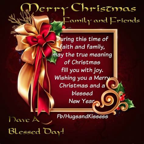 merry christmas family and friends pictures photos and