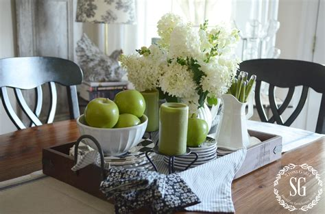How To Decorate Your Kitchen Table For by Early Fall Farmhouse Kitchen Stonegable