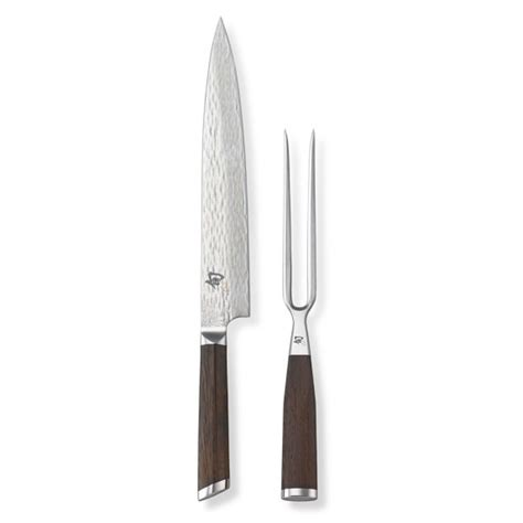 Fuji 2 Set shun fuji 2 carving set williams sonoma