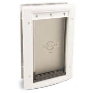 Petsafe Dog Door Petsafe Plastic Large Pet Door For Dogs 100lbs Ebay