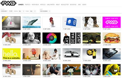 html design gallery 10 absolute best web design galleries web design ledger