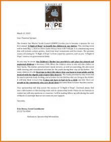 3 proposal letter for sponsorship example buyer resume