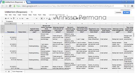 membuat kuisioner dengan google form membuat kuisioner online dengan google form oleh annissa