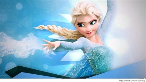 cartoon elsa wallpaper frozen wallpapers thefunnyplace
