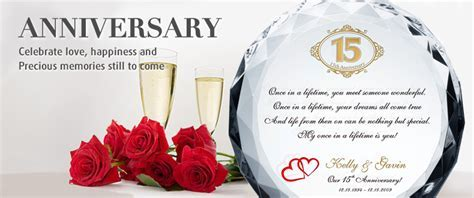 Crystal Wedding Anniversary Gifts   Crystal Central