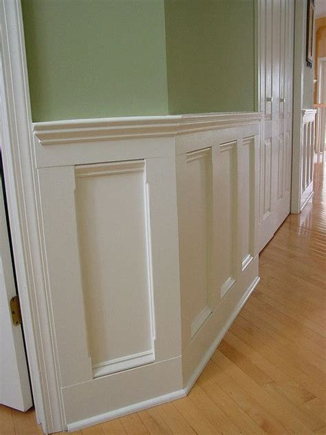 Premade Wainscoting by Wainscoting Angled Paneling Trim Moldings Millwork