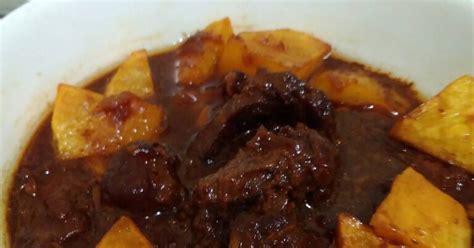 Freezer Daging Ukuran Kecil resep semur daging 25 menit saja oleh homsah artatiah