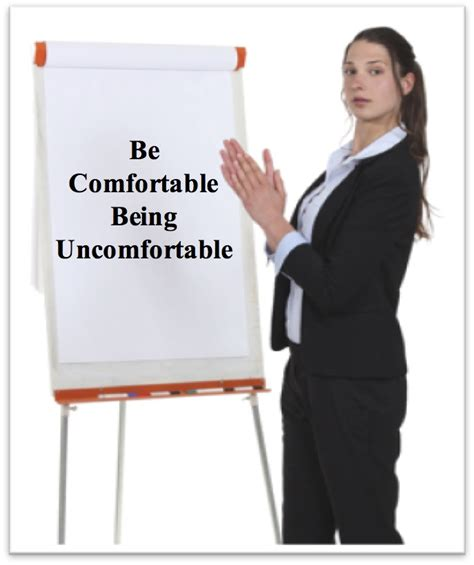 how to be comfortable coaching be comfortable being uncomfortable ccc blog