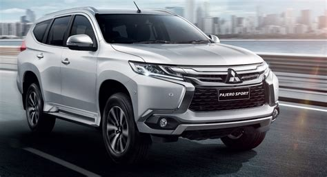 mitsubishi pajero 2016 white 2016 pajero sport unveiled pics features engine details