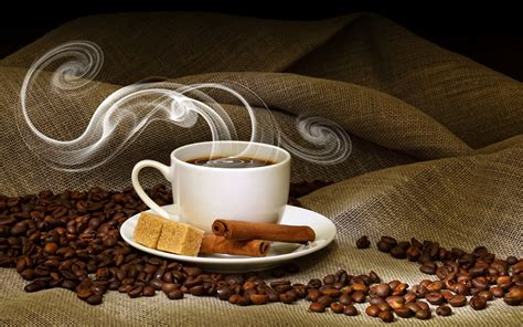 Wallpapers Coffee Grain Cinnamon Cup Food Vapor Drinks