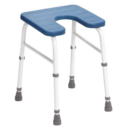 Waterproof Shower Stool by Drive Adjustable Cowley Shower Stool With