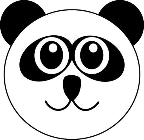 Masker Animal Snp Mask Gambar Hewan Panda Otter Tiger panda 9 clip at clker vector clip royalty free domain