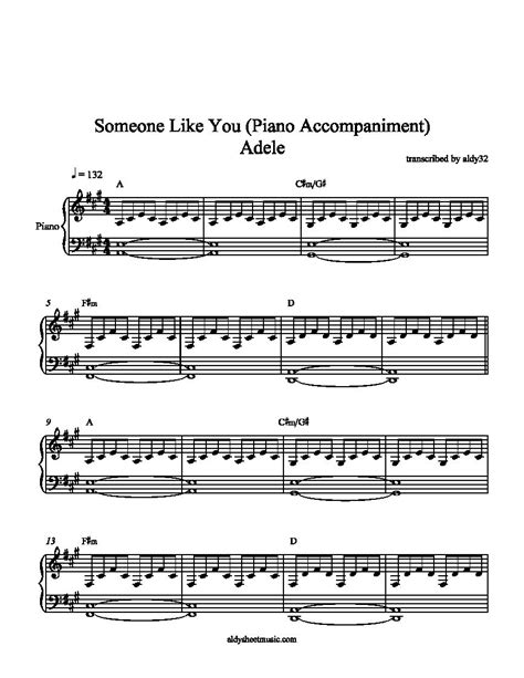 adele a piano piano sheet music someone like you google search ideas
