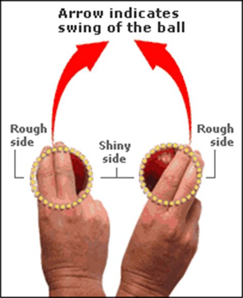 swing bowling grip tips for swing bowling snatch blogspot