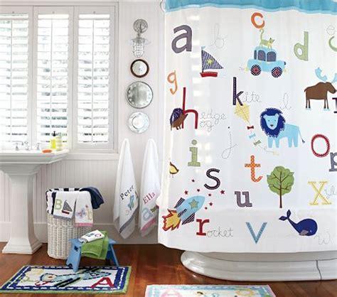 pottery barn kids bathroom ideas abc shower curtain pottery barn kids for the jack n jill