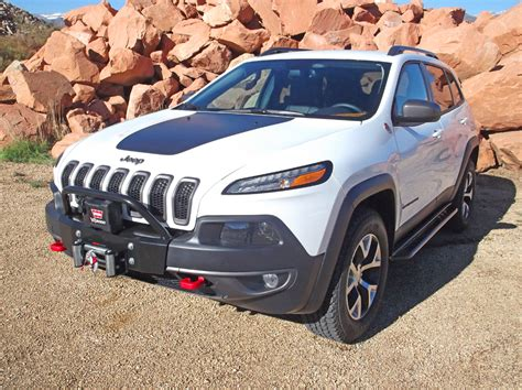 jeep cherokee trailhawk custom jeep cherokee 2014 and newer bumper kit and winch kits