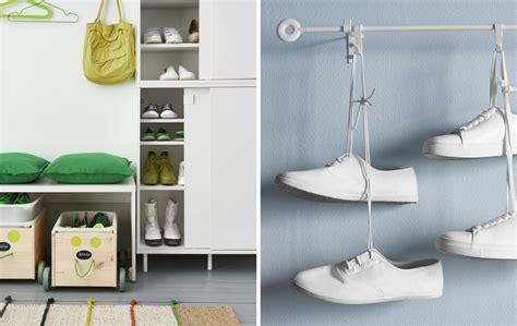 Schuhe Aufbewahren Wenig Platz by Scarpe A Posto Per Un Ingresso Ordinato