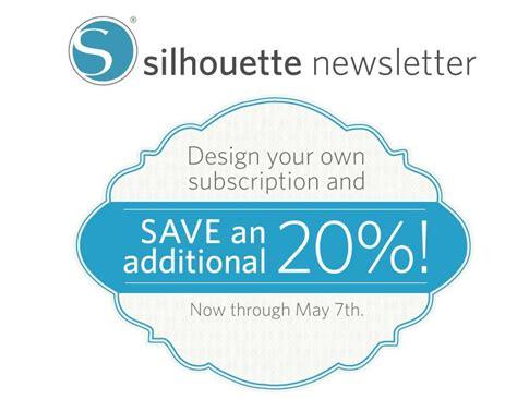 subscription discount silhouette subscription sale scrap me designs