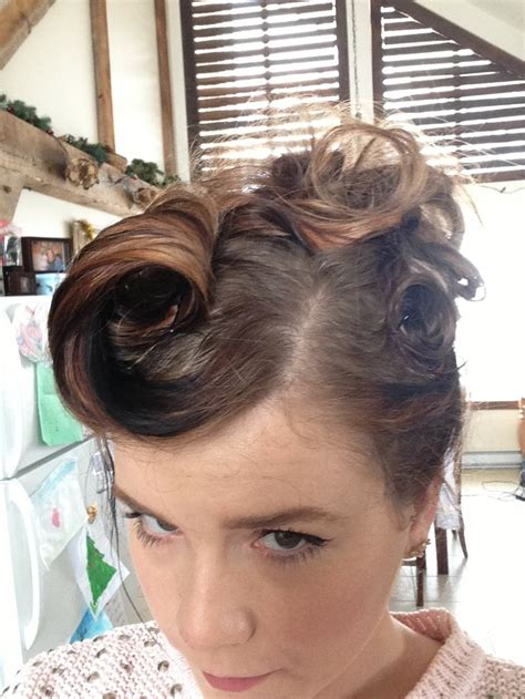 50s updo modern 50s updo hawt need say no more pinterest