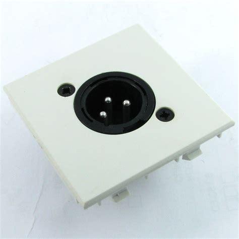 Xlr Wall Plate buy module xlr wall plate inserts for 3 pin
