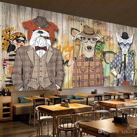 abstract art wallpaper wood plank retro nostalgia animal