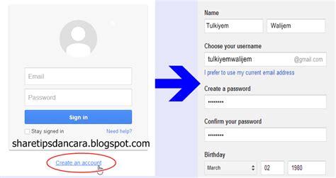 cara membuat email google talk cara lengkap membuat email google tips cara
