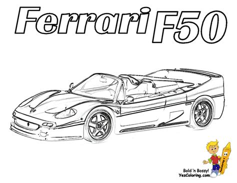 free ferrari coloring pages book for kids boys com free carros ferraris coloring pages