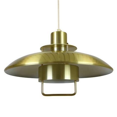 Aluminium Pendant Lights Brass Coloured Aluminium Pendant From Scandinavia 1004