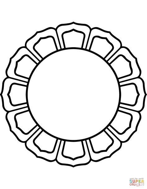 circle coloring page circle coloring page coloring pages