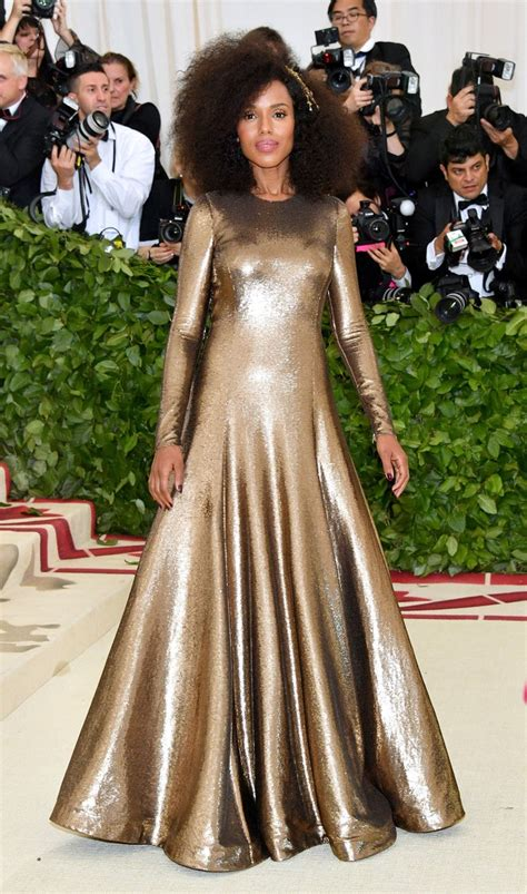 Catwalk To Carpet Kerry Washington In Maison Martin Margiela by Best Of The Met Gala 2018 The Looks With Rihanna