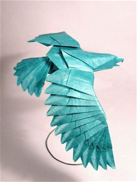 How To Make A Eagle Out Of Paper - more amazing origami eagles by nguyen hung chuong i think