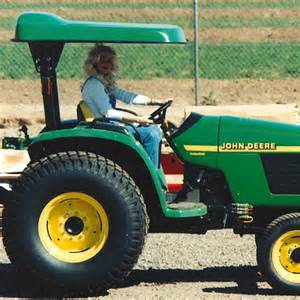 Compact Tractor Canopy by D4 Fiberglass Canopy For John Deere Compact Utility