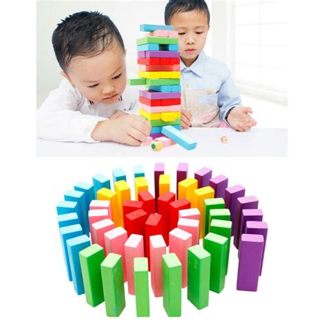 Mainan Edukasi Balok Susun Kayu Uno Stacko Wiss Ang Murah mainan balok kayu jakarta mainan toys