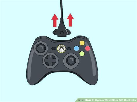 how to use 360 how to open a wired xbox 360 controller 10 steps with