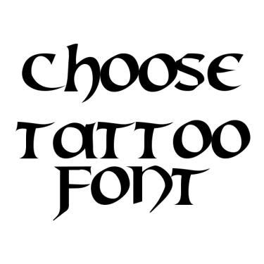 tattoo fonts maker online lettering font generator